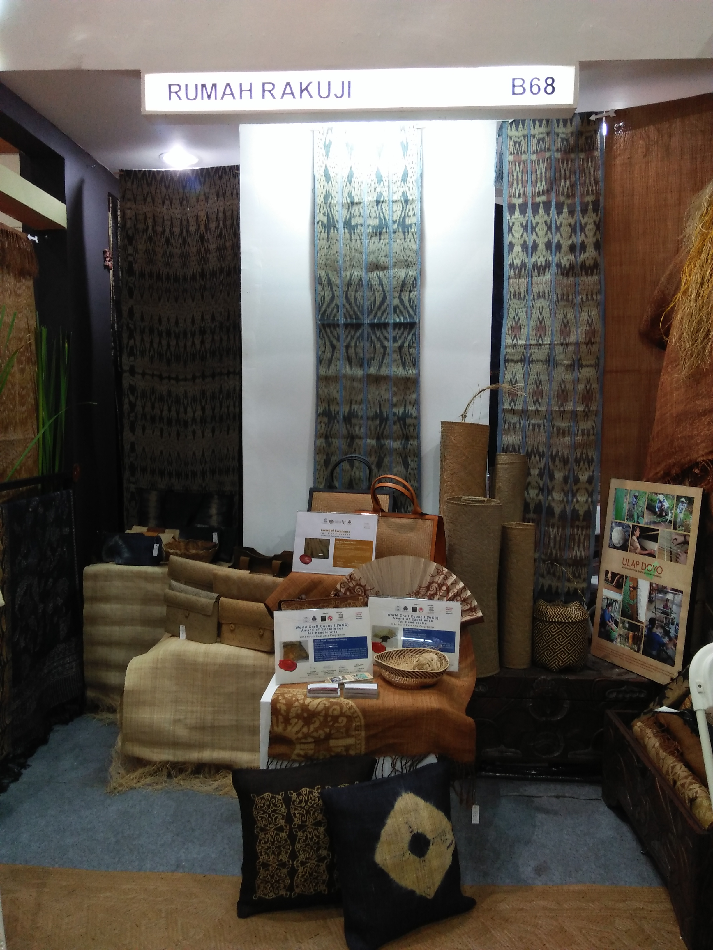 Our stand at Kriyanusa Dekranas