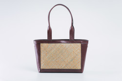 Bemban Handbag with Long Strap