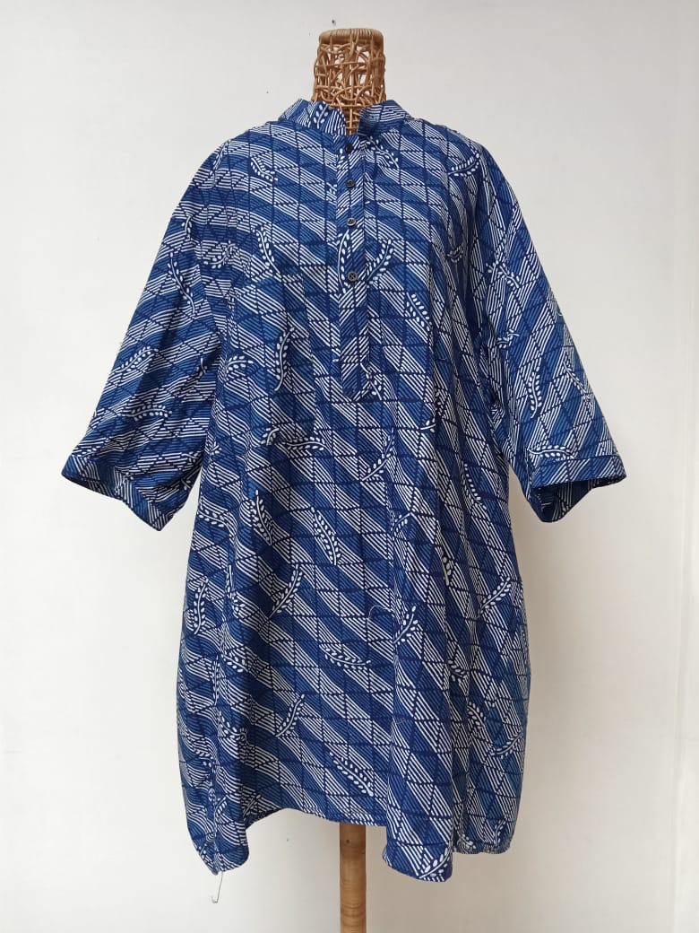 Hand Drawn Batik Tunic