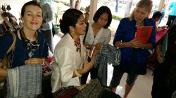 Mrs. Myra with our beloved customers