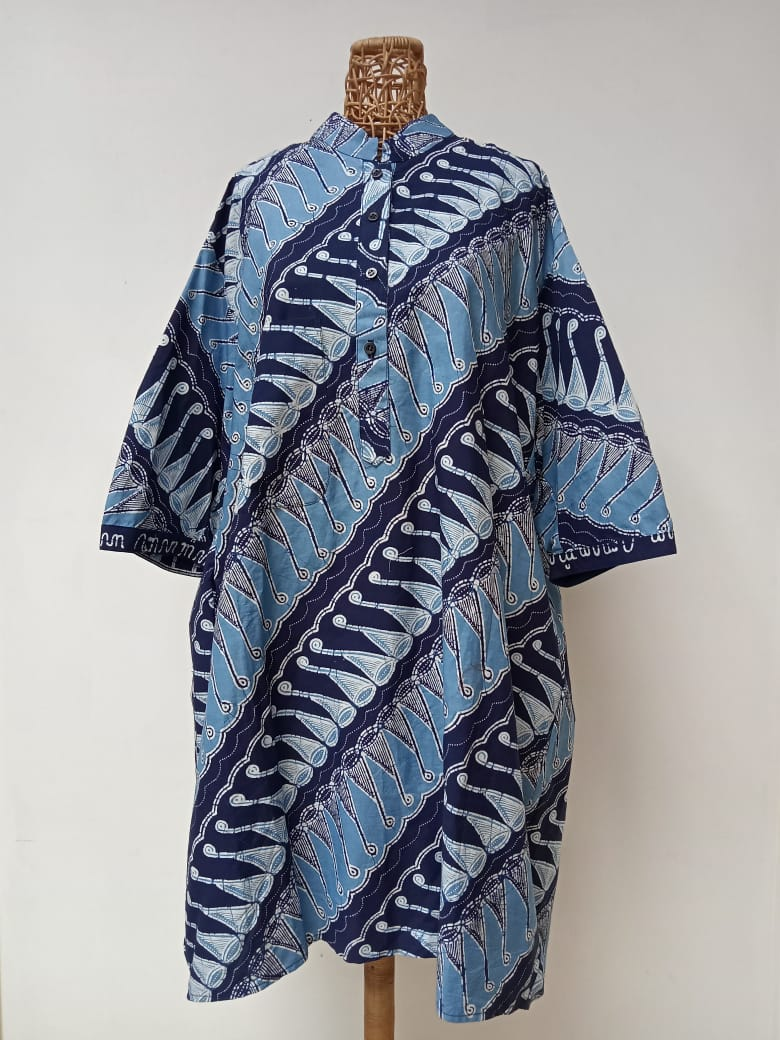 Hand Drawn Batik Tunic