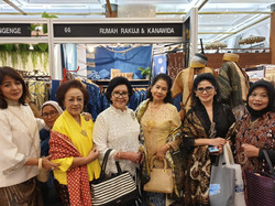 With our lovely customers