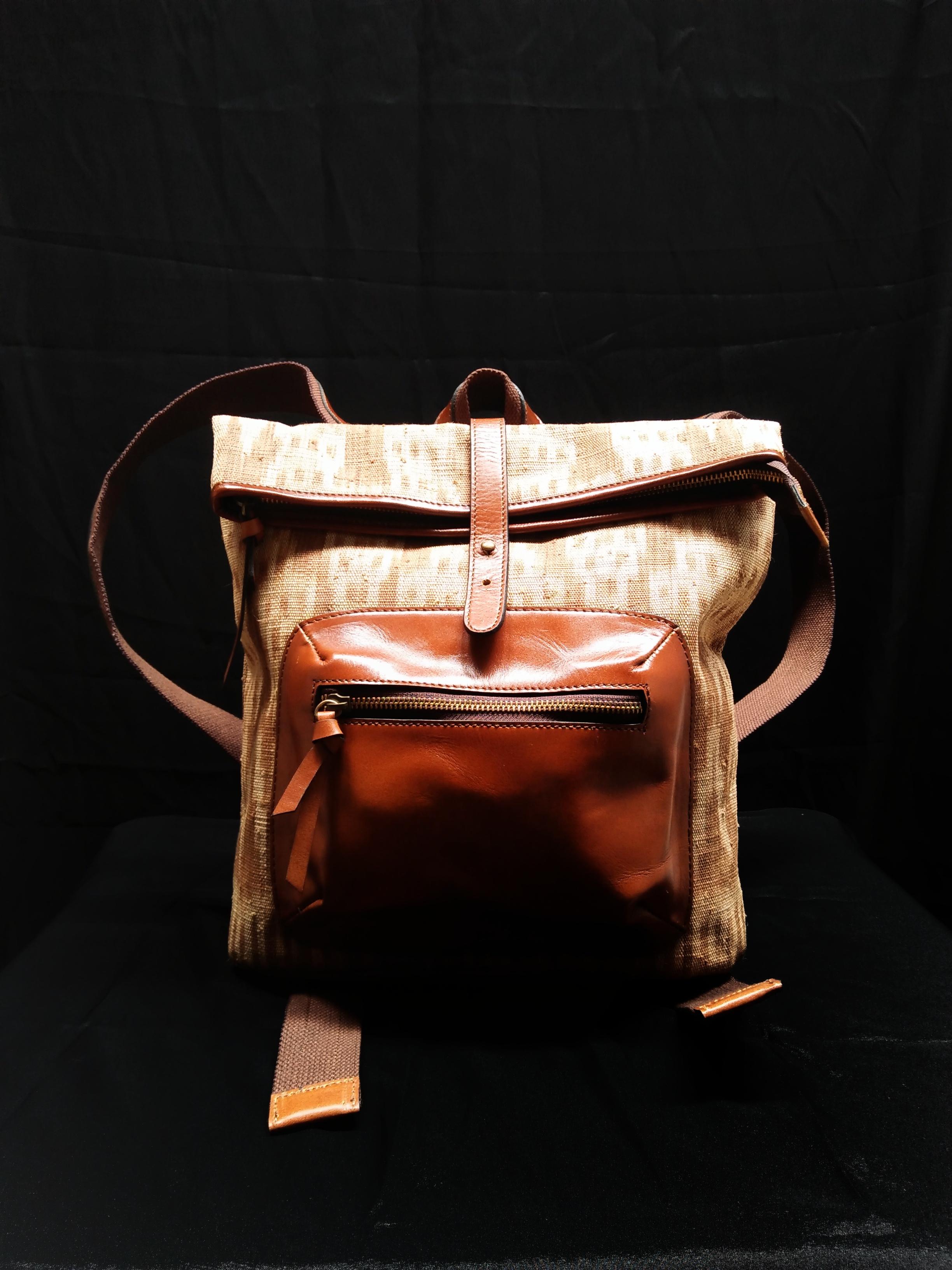 Doyo Ransel  Bag 01 - Ikat