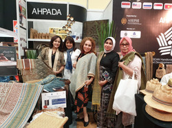 Mrs. Myra with our customers