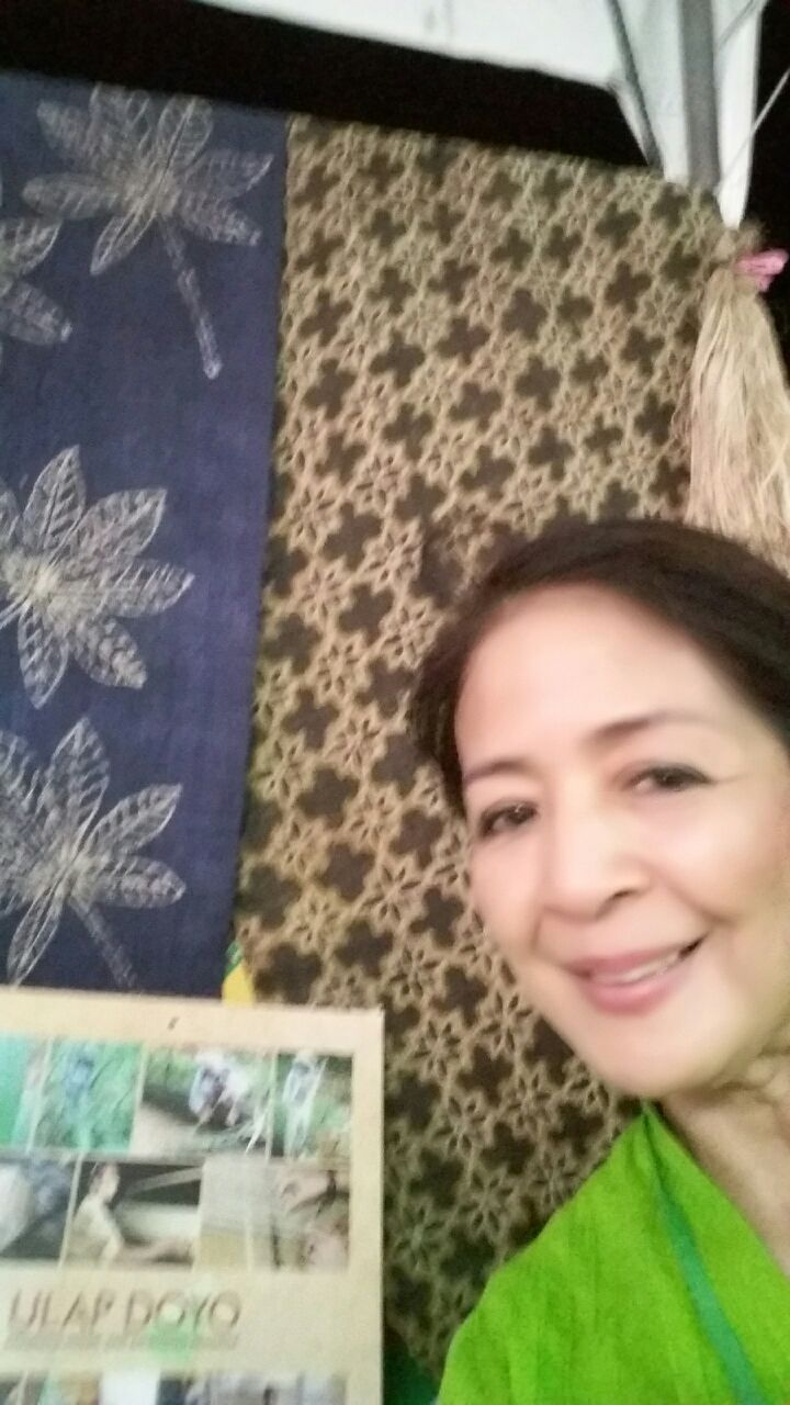 Mrs. Myra and Batik Doyo