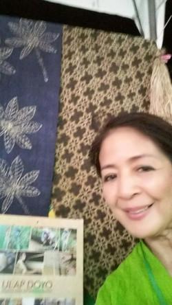 Mrs. Myra and Batik Doyo