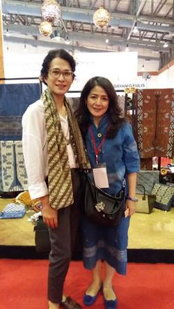 Mrs. Myra with Oscar Lawalata
