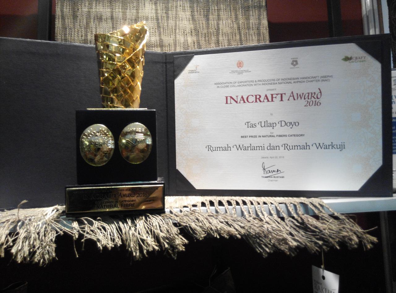 INACRAFT AWARD 2016