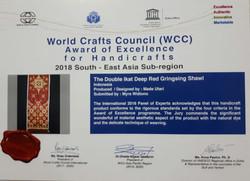 WCC Award 2018