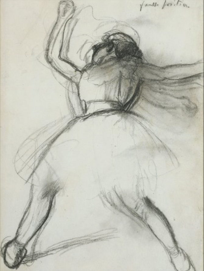 Degas. Bailarina