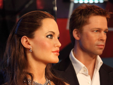 BLOG POST * CHILD SUPPORT WOES: ANGELINA JOLIE & BRAD PITT EDITION