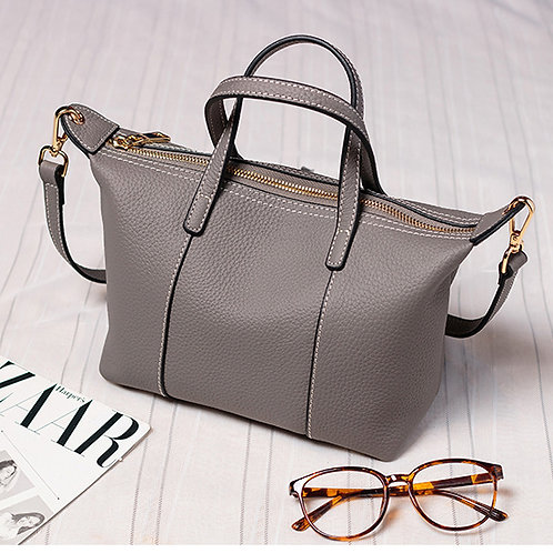 Tiffany Anisette Leather Tote