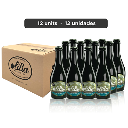 Oliba Green Beer Mis Raíces - The Empeltre One - 12 un.