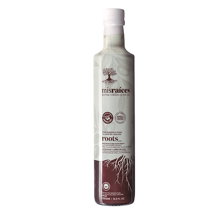 Mis Raíces ROOTS  2020 |  EVOO 500 ml   |   Harvest 2019