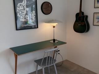 Total forelsket i mit nye hjemmekontor♡