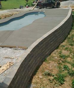 decorative concrete contractor commercia