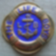 Enamel Life Boys Badge c. 1920s - 1930s