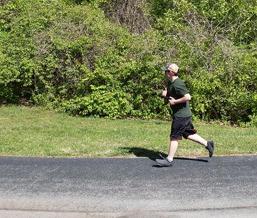 Zach going for a run