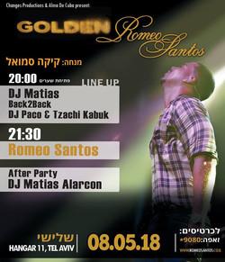 Romeo Santos Concert In Israel