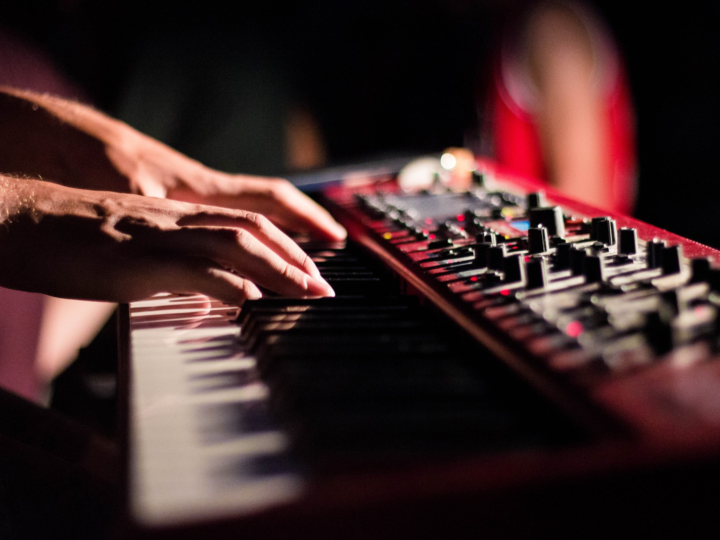 Clavier et synthe Music in medoc instrum