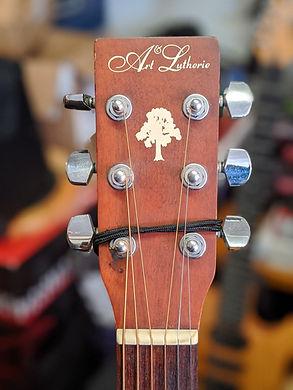 Guitare Folk Art & Lutherie - Canada Bon Etat - Modèle SPRUCE guitare bordeaux