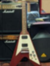 Guitare electrique Gibson Flying V 2010 guitare bordeaux guitare st medard en jalles le haillan music in medoc