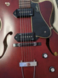 Godin 5th avenue guitare electrique occasion Bordeaux music in medoc le haillan