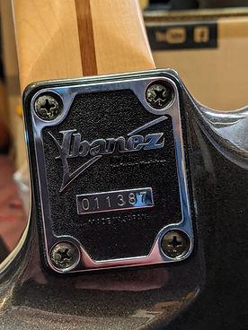 Ibanez Satriani JS 1200 guitare bordeaux