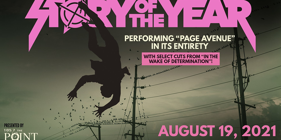 """Story of The Year- """"Page Avenue"""" in its Entirety, at Red Flag"""