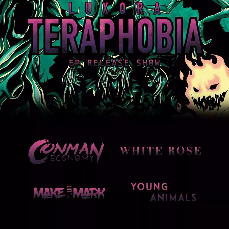 LUXORA - Teraphobia EP Release Show at Red Flag