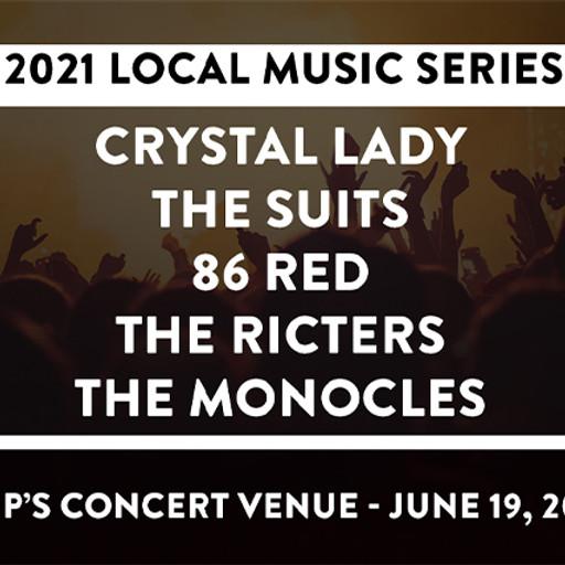 Pop's Presents 2021 LOCAL MUSIC SERIES