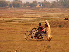 Man with a Disability in Tricycle.JPG