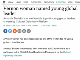 Young Global Cultural Leader