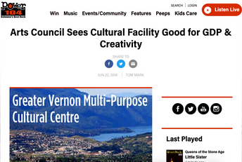 Greater Vernon Multi-Purpose Cultural Centre
