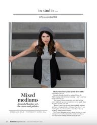 Okanagan Boulevard Magazine, Amanda Shatzko