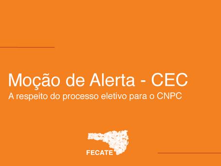 Moção de Alerta - CNPC