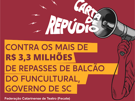 Carta Repúdio