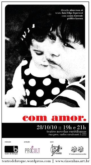Com amor | Pró Cult/Teatro de Breque