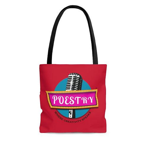 Poestry AOP Tote Bag