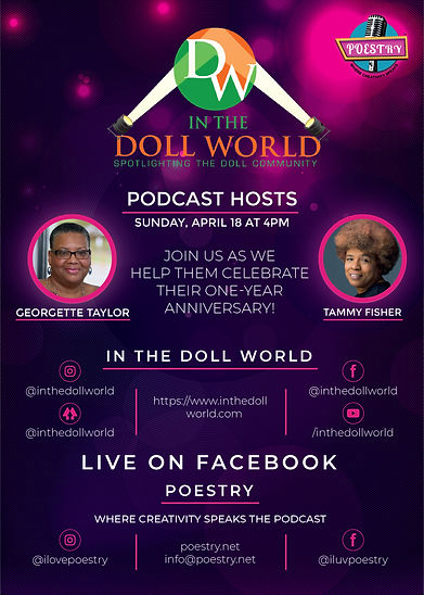 Flyer-Tammy and Georgette-In The Doll Wo