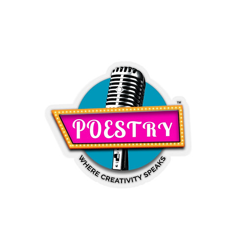 Poestry Kiss-Cut Stickers