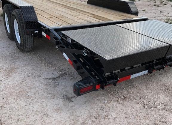83x22 14k Equipment Hauler w/ Rhino Ramps
