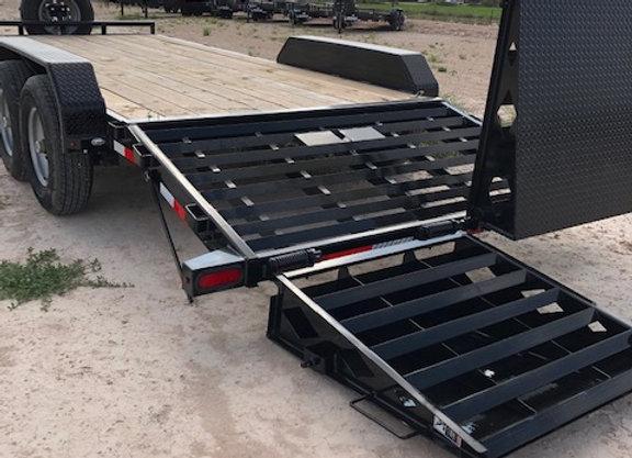 83x20 14k Equipment Hauler w/ Rhino Ramps