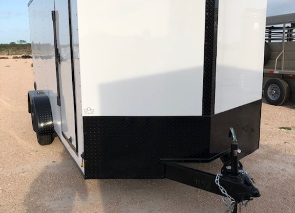 7x16x6.5 7k Ramp Door Blackout Package
