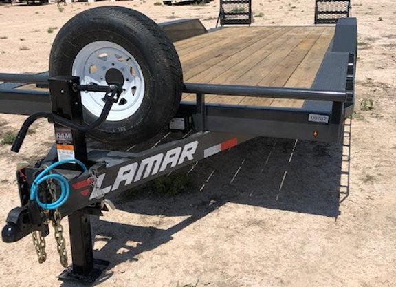 102x20 14k EQ Hauler w/ Heavy Duty Stand Up Ramps