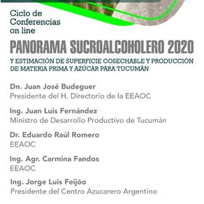 EEAOC - Presentación de panorama sucroalcoholero. Video conferencia Zoom.