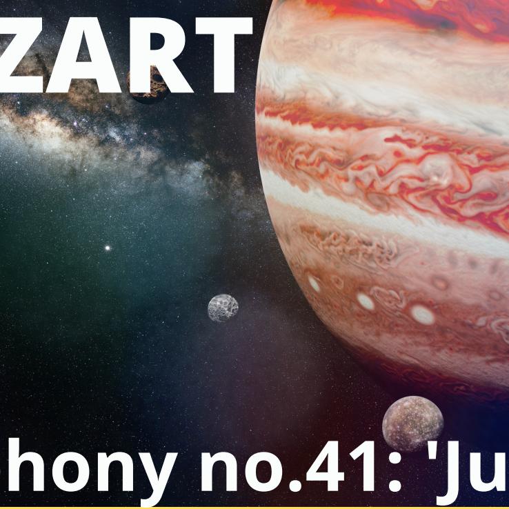 Mozart Symphony number 41 - Jupiter