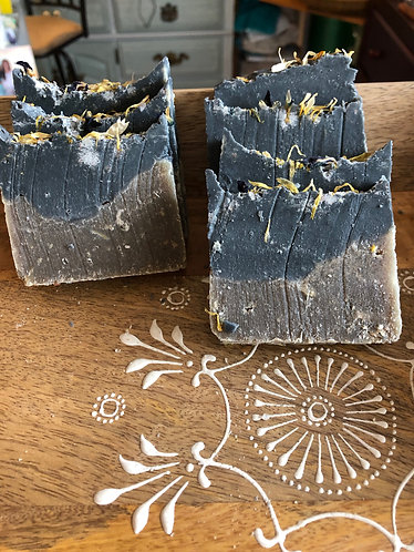 Cooling Activated Charcoal+Green Clay soap+mask