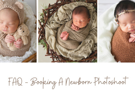 When is the best time to book your Newborn session?