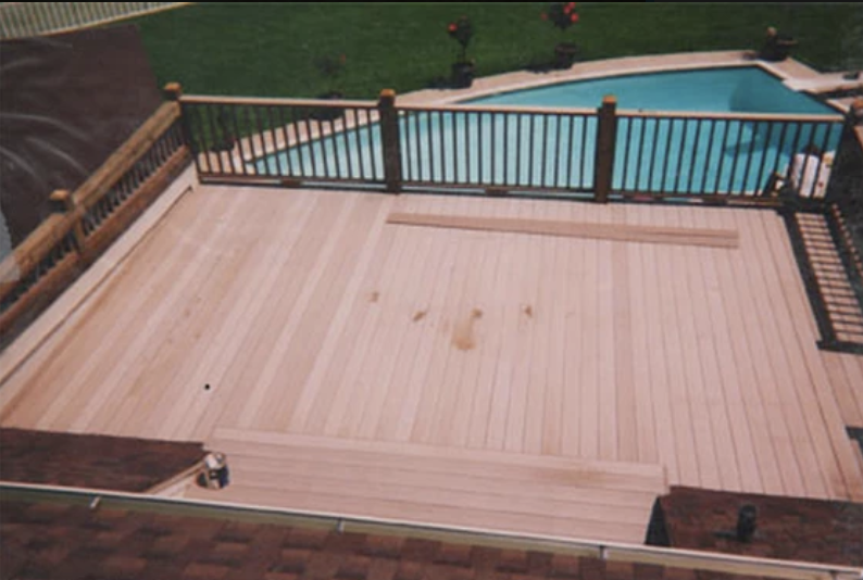 Second Floor Deck